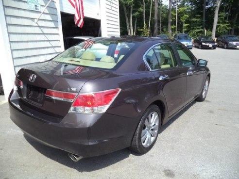 2012 Honda Accord EX L V6 4dr Sedan Brown, Kingston, NH